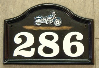 harley-number-plaque